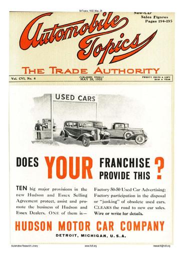 Auto Topics | 1932 May 28