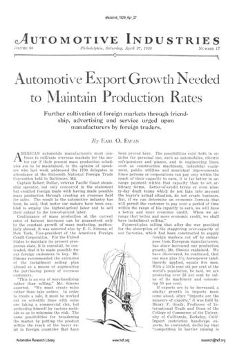Auto Industries 1929 04 27