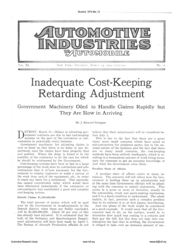 Auto Industries 1919 03 13