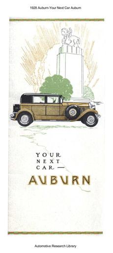1928 Auburn   Your Next Car (7pgs)