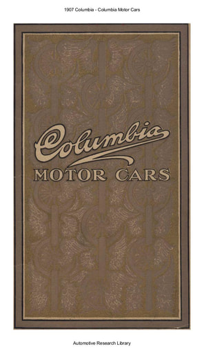 1907 Columbia Motor Cars (39pgs)