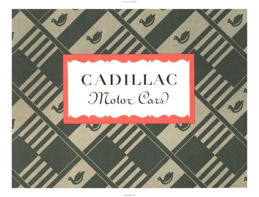 1927 Cadillac   Motor Cars (35pgs)