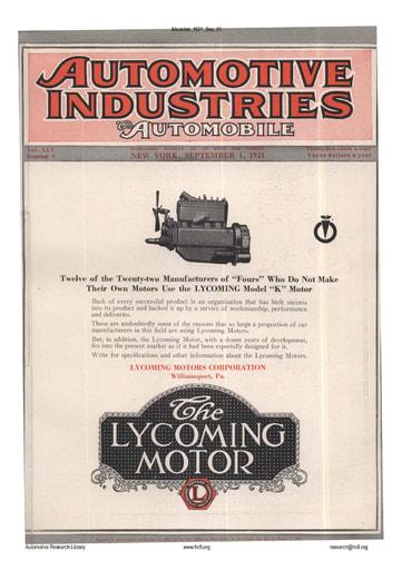 Auto Industries 1921 09 01