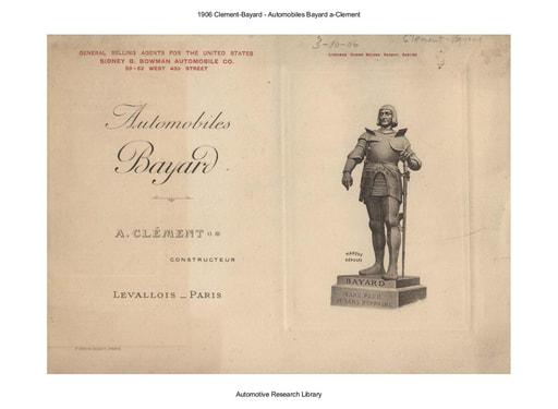 1906 Clement Bayard   Automobiles Bayard a Clement (24pgs)