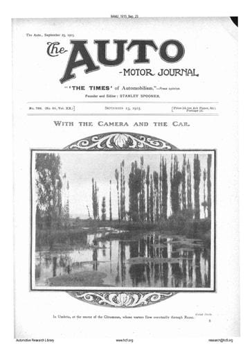 Auto Motor Journal | 1915 Sep 23