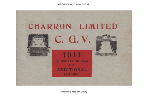 1911 CGV   Charron Limited (13pgs)