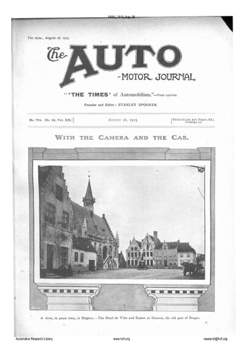 Auto Motor Journal | 1915 Aug 26