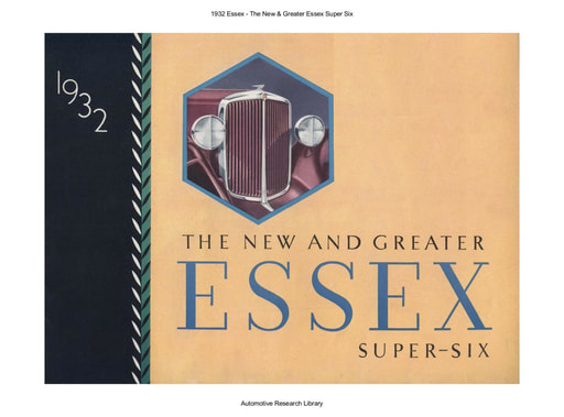 1932 Essex   The New & Greater Super Six (15pgs)