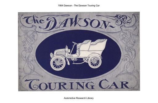 1904 Dawson   Touring Car (18pgs)