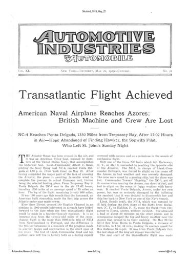 Auto Industries 1919 05 22