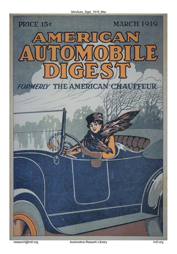 American Automobile Digest - 1919 March