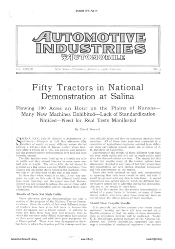 Auto Industries 1918 08 01