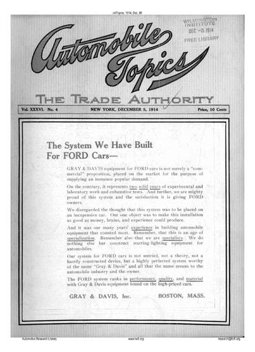 Auto Topics | 1914 Dec 05