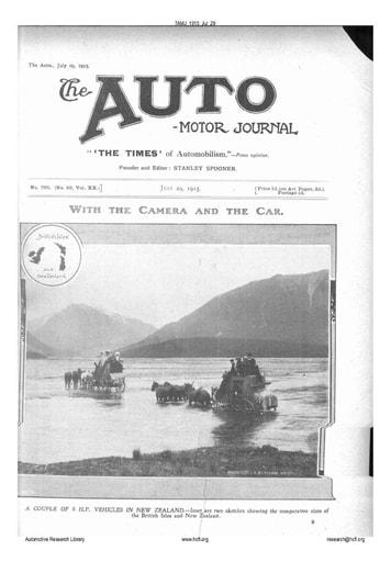 Auto Motor Journal | 1915 Jul 29