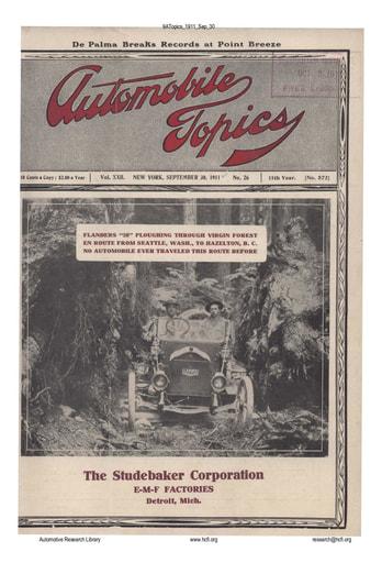 Auto Topics | 1911 Sep 30