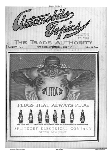 Auto Topics   1914 Sep 05