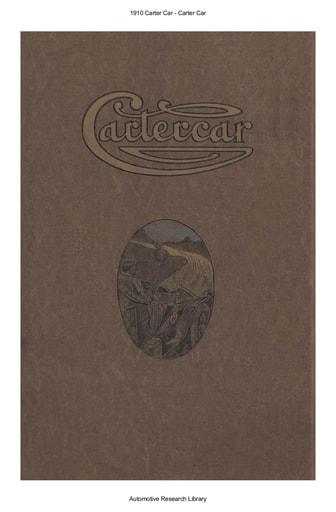1910 Carter Car   Cartercar (29pgs)
