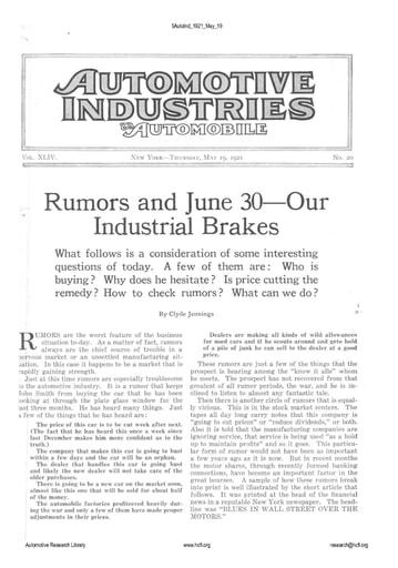 Auto Industries 1921 05 19