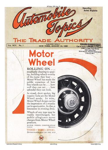 Auto Topics | 1929 Aug 10