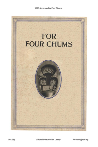 1916 Apperson   For Four Chums (7pgs)