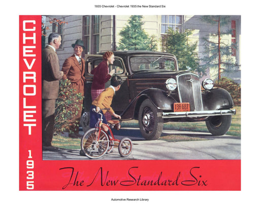 1935 Chevrolet   New Standard Six (8pgs)