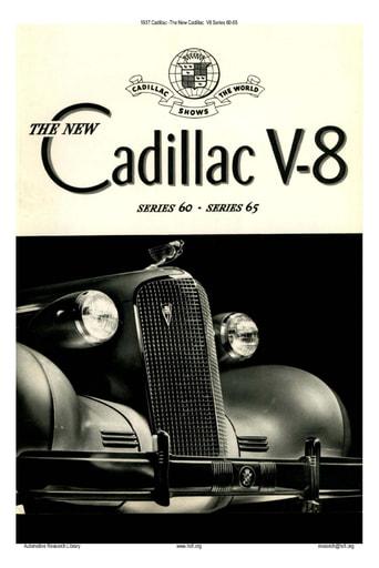1937 Cadillac   V8 Series 60 65 (5pgs)