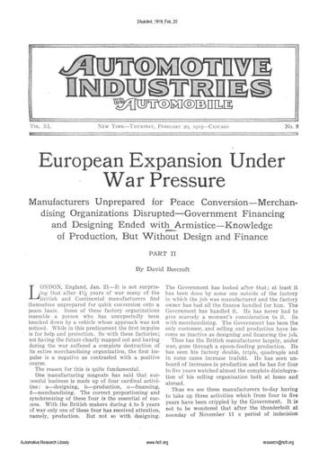 Auto Industries 1919 02 20