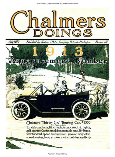 1913 Chalmers   Chalmers Doings Announcement Number (20pgs)