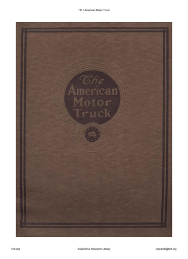 1911 American Motor Truck (17pgs)