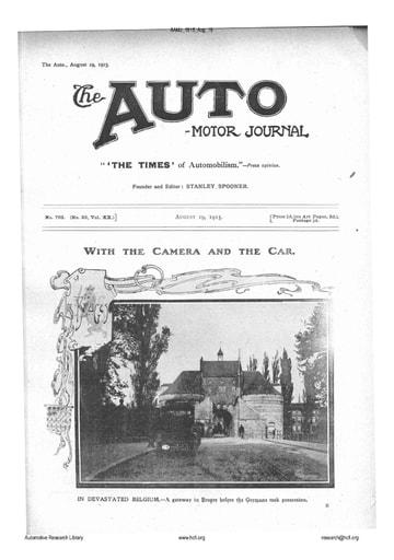 Auto Motor Journal | 1915 Aug 19