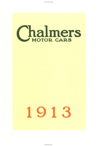 1913 Chalmers Motor Cars (69pgs)