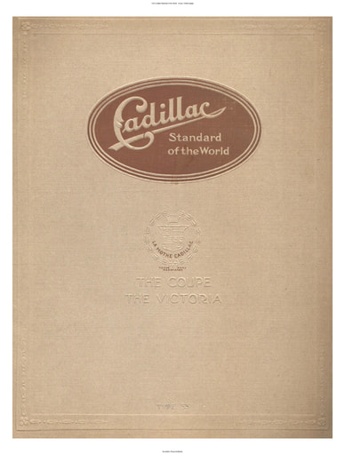 1916 Cadillac   Standard of the World   Coupe, Victoria (8pgs)