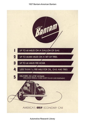 1937 Bantam   American Bantam (3pgs)