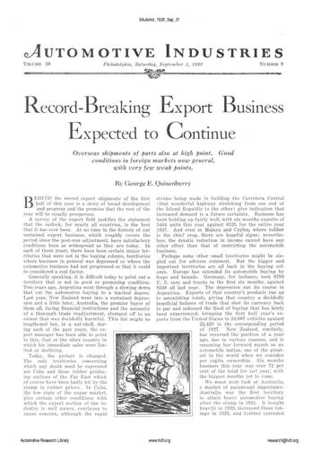 Auto Industries 1928 09 01