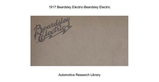 1917 Beardsley Electric (16pgs)