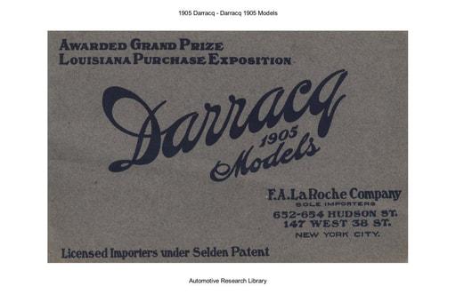 1905 Darracq (13pgs)
