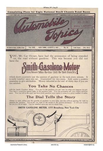 Auto Topics | 1911 Aug 05