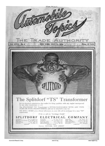 Auto Topics | 1914 Jul 11