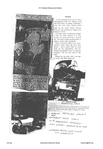 1911 Breese   Pictures and Articles (48pgs)