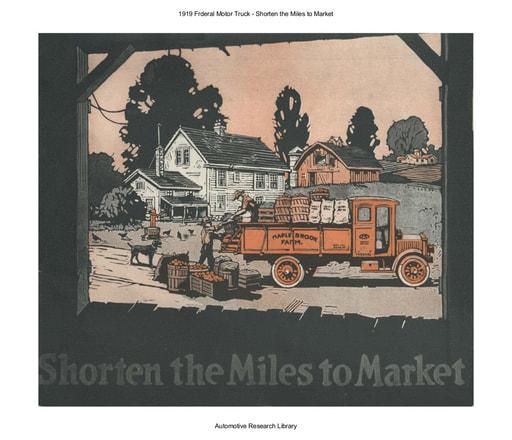 1919 Frderal Motor Truck   Shorten the Miles (24pgs)