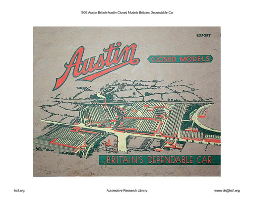 1936 Austin British   Closed Models (26pgs)