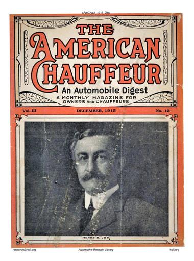 American Chauffeur | 1915-12 Dec