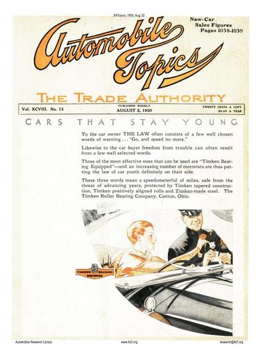 Auto Topics | 1930 Aug 02