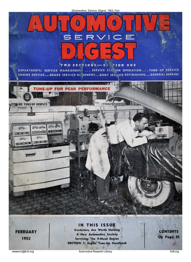 Automotive Service Digest 1953 02 Feb