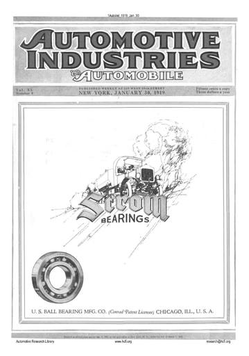 Auto Industries 1919 01 30
