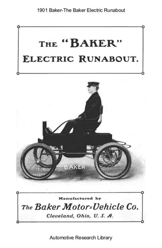 1901 Baker   Electric Runabout (6pgs)