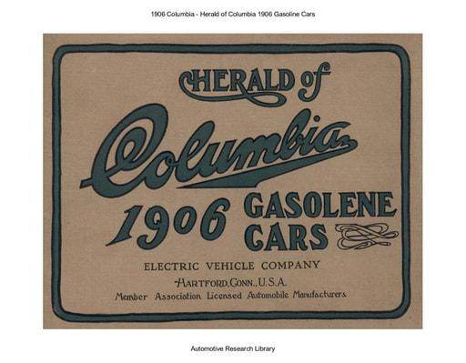 1906 Columbia   Herald of Columbia (19pgs)
