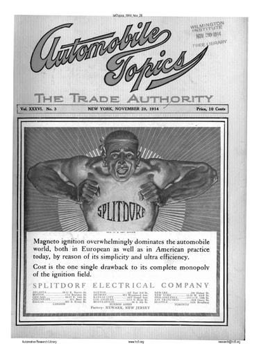 Auto Topics | 1914 Nov 28