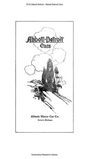 1915 Abbott Detroit (17pgs)