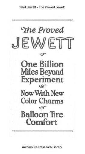 1924 Jewett   The Proved (16pgs)